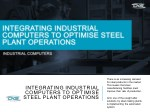 there is an increasing demand for steel products