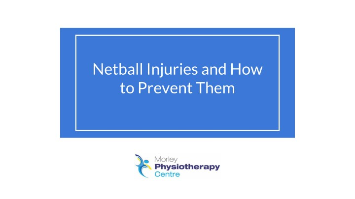 netball injuries and how to prevent them n.