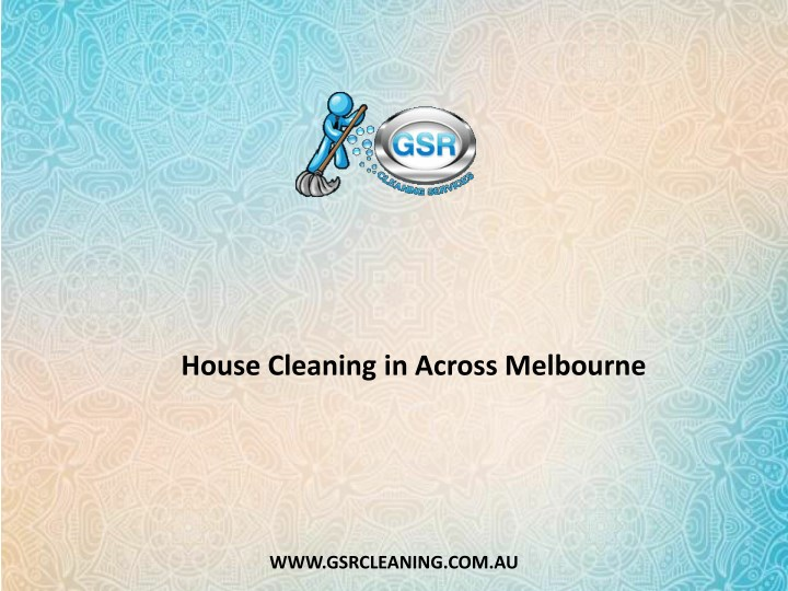 house cleaning in across melbourne n.