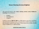 house cleaning services brighton 1