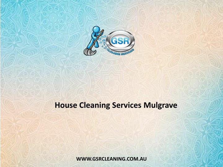 house cleaning services mulgrave n.