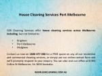 house cleaning services port melbourne 1