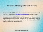 professional cleaning in across melbourne 1