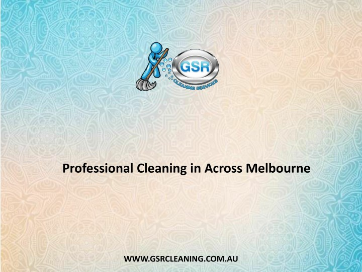 professional cleaning in across melbourne n.
