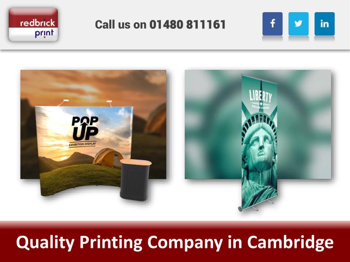 quality printing company in cambridge n.