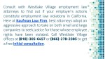 consult with westlake village employment