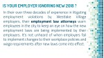 is your employer ignoring new 2018 in their over