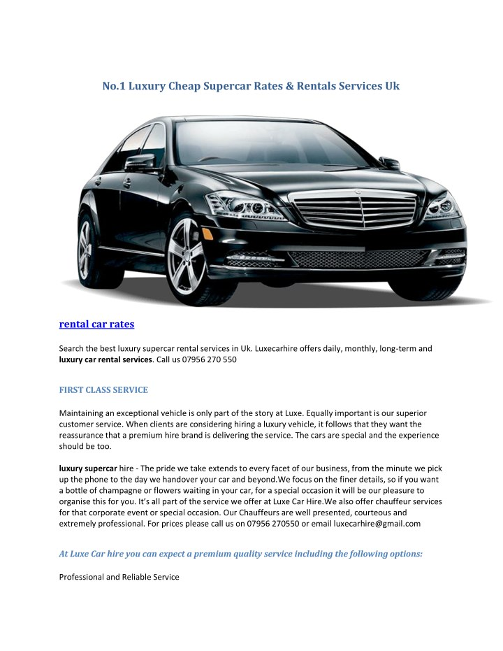 no 1 luxury cheap supercar rates rentals services n.