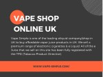 vape shop online uk