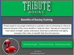benefits of boxing training