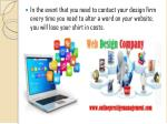 in the event that you need to contact your design