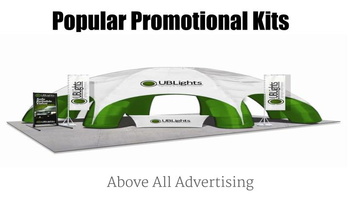 popular promotional kits n.