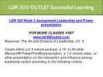 ldr 300 outlet successful learning 10