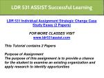ldr 531 assist successful learning 8