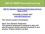 ldr 531 assist successful learning 9