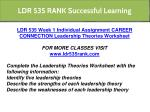 ldr 535 rank successful learning 3