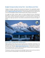 budget annapurna base camp trek save money