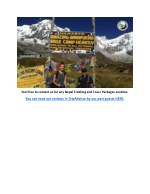 feel free to contact us for any nepal trekking