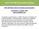 mat 540 aid successful learning 14