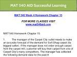 mat 540 aid successful learning 25