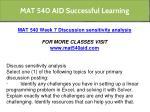 mat 540 aid successful learning 34