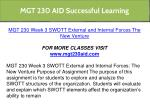 mgt 230 aid successful learning 18