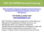 mgt 230 papers successful learning 23