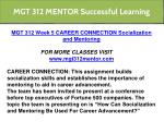 mgt 312 mentor successful learning 10