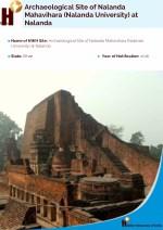 archaeological site of nalanda mahavihara nalanda