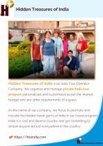 hidden treasures of india