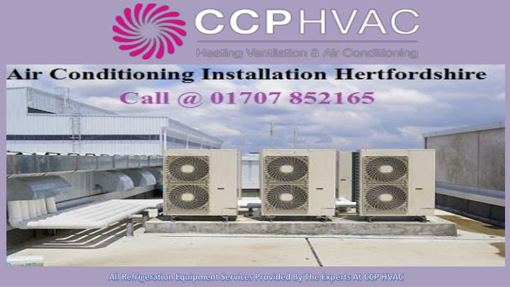 all refrigeration equipment services provided n.