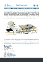 educational physics lab equipment manufacturers