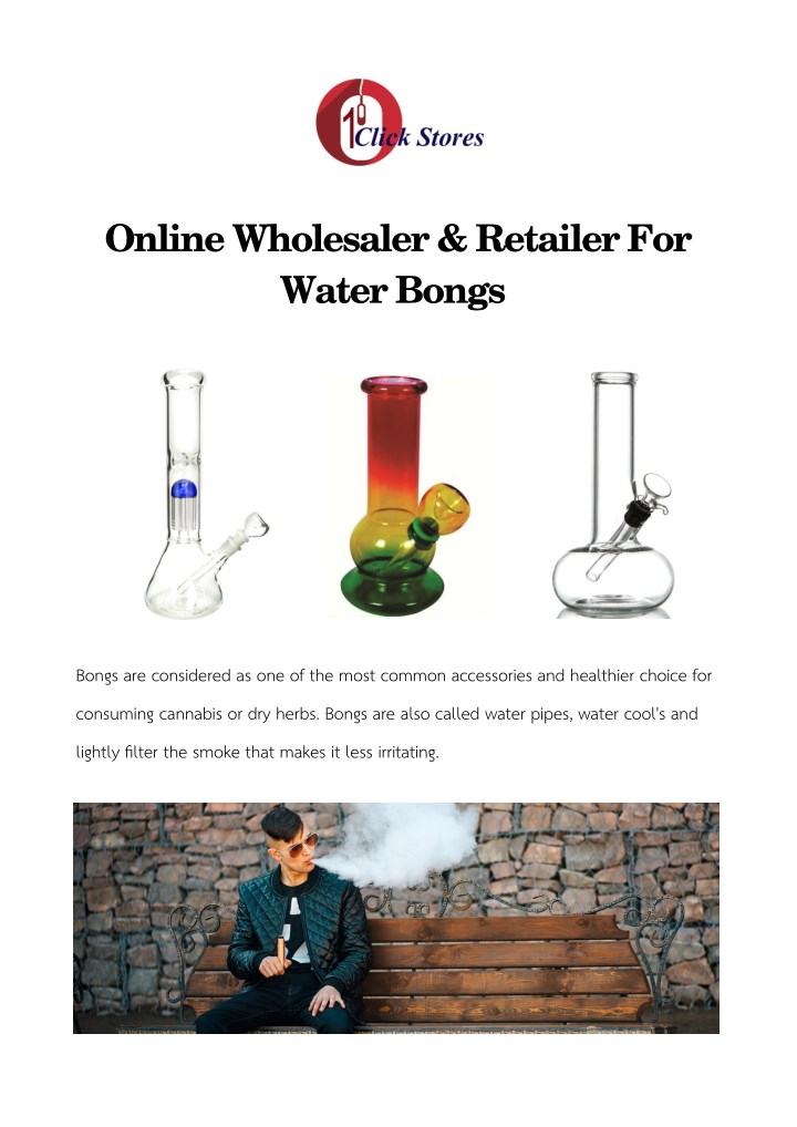 online wholesaler retailer for water bongs n.