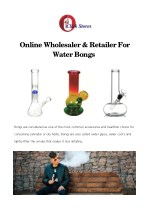 online wholesaler retailer for water bongs