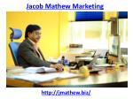 jacob mathew marketing 1