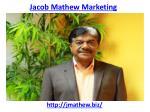 jacob mathew marketing 2