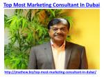 top most marketing consultant in dubai 1