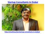 startup consultants in dubai 1