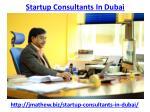 startup consultants in dubai