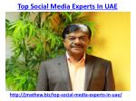 top social media experts in uae 1