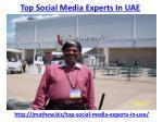 top social media experts in uae 2