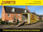 professional removal services in norwich