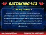 satta king for money 3