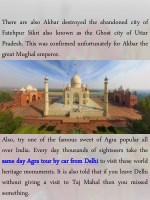 there are also akbar destroyed the abandoned city