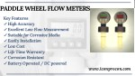 paddle wheel flow meters