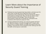 learn more about the importance of security guard 1