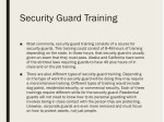 security guard training 1
