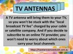 tv antennas 1