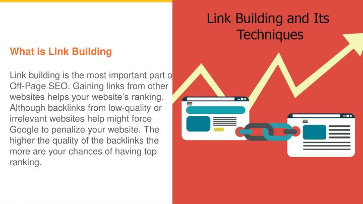 what is link building link building is the most n.