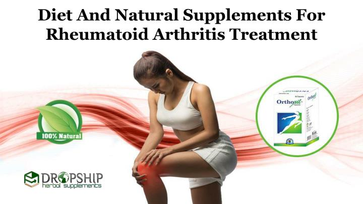 diet and natural supplements for rheumatoid n.